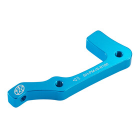 Reverse IS-PM Disc Adapter Shimano 180 mm hinten hellblau